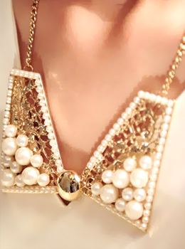 collar pearl necklace 칼라진주목걸이/칼라목걸이/패션목걸이